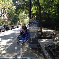 Photo taken at Citi Bike Station by Nate F. on 8/21/2013