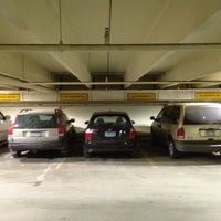 Photo taken at Grand Place Parking Garage by Nate F. on 12/26/2012