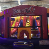 Photo taken at Bounce U by Nate F. on 5/20/2017