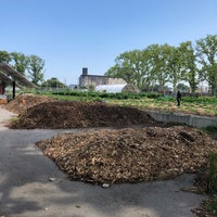 Photo taken at Red Hook Community Farm by Nate F. on 7/27/2018