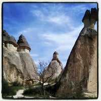 Photo taken at Cappadocia by kübra k. on 3/31/2013