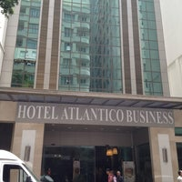 Photo taken at Atlântico Business Hotel by JesusSanch on 2/9/2013