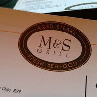 Photo taken at M&S Grill by Jay L. on 3/20/2013