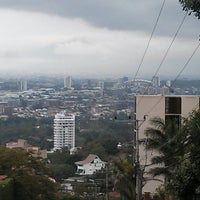 Photo taken at San Rafael de Escazú by Marvin C. on 5/26/2013