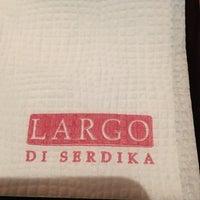 Photo taken at LARGO Bar & Diner by Kostadin G. on 3/9/2018