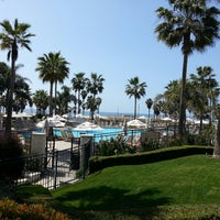 Photo taken at Hyatt Regency Huntington Beach Resort and Spa by Tunc B. on 3/22/2013