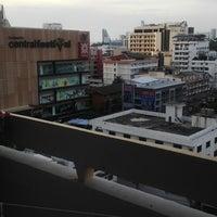 Photo taken at Golden Beach Hotel by Prima M. on 5/12/2013