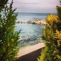 Photo taken at Beach by İhsan K. on 1/6/2014