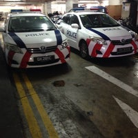 Photo taken at Bedok Police Division HQ / Bedok North Neighbourhood Police Centre by Joash L. on 1/4/2016