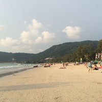 Photo taken at Gay Beach Patong by ÁßĎÚĹĹÁĤ™ on 4/15/2014