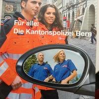 Photo taken at Polizeiposten Waisenhausplatz by fabian S. on 7/1/2013