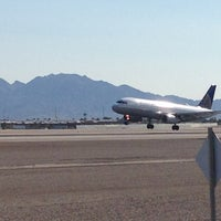 Photo taken at McCarran Airport Runway Observation by Aaron J. on 7/28/2013