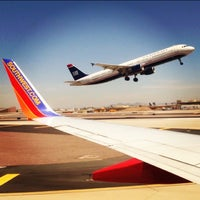 Photo taken at Phoenix Sky Harbor International Airport (PHX) by Aaron J. on 6/11/2013