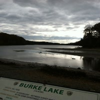 Photo taken at Burke Lake by Lauren S. on 11/3/2012