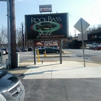 Photo taken at Rockbass Grill by Brittany P. on 2/14/2013