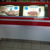 Photo taken at Domino's Pizza by Ömer A. on 2/5/2013