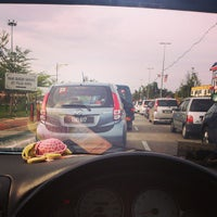 Photo taken at Traffic light seberang marang by Fizi T. on 10/14/2013