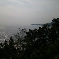 Photo taken at 쪽빛바다 해안도로 by Jeehye R. on 10/5/2012