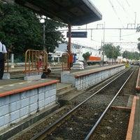 Photo taken at Stasiun Kemayoran by Aloysius B. on 3/11/2013