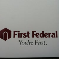 Photo taken at First Federal Bank by Ron F. on 7/13/2013
