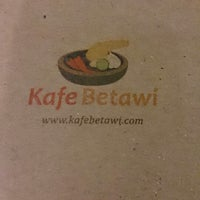 Photo taken at Kafe Betawi by Ary V. on 12/15/2013
