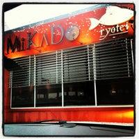 Photo taken at Mikado Ryotei by Reid S. on 5/25/2013