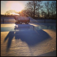 Photo taken at larz anderson skating rink by David R. on 1/27/2013