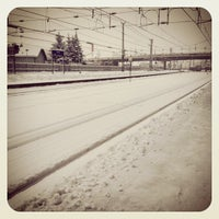 Photo taken at Bahnhof Hallein by Anna K. on 12/11/2012