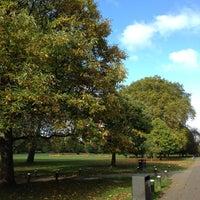 Photo taken at Ravenscourt Park by Alex M. on 10/27/2012