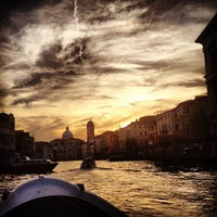 Photo taken at Canal Grande by |Alice| on 5/9/2013
