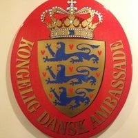 Photo taken at Royal Danish Embassy by Shirly H. on 11/8/2013