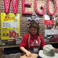 Photo taken at WEGO 原宿竹下通り店 by Shirly H. on 9/11/2015