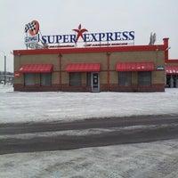 Снимок сделан в Super Express пользователем Александр П. 2/14/2013