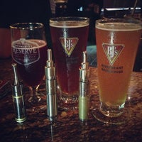 Photo taken at BJ's Restaurant and Brewhouse by vapor l. on 6/27/2013