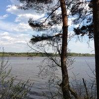 Photo taken at Угличское водохранилище by Ксения К. on 5/10/2013