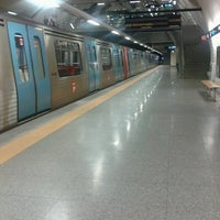 Photo taken at Metro São Sebastião [AZ,VM] by Pedro A. on 4/26/2013