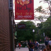 Photo taken at Huey's Hot Dogs by Seth J. on 6/16/2013