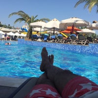 Photo taken at Port Nature Swimming Pool by Cevren S. on 8/7/2016