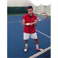 Photo taken at Swiss Otel Macka Tenis Klubu by Roy D. on 5/2/2014