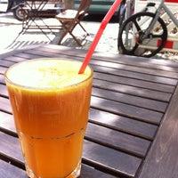 Photo taken at Café Fruchtbar by Esbjörn G. on 5/8/2013