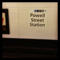 Photo taken at Powell St. BART Station by Alexey P. on 9/30/2012