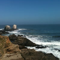 Photo taken at Punta de Lobos by Pedro i. on 11/2/2012