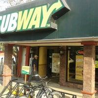 Photo taken at Subway by Gerardo B. on 3/23/2013