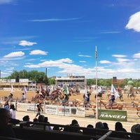 Photo taken at Prescott Rodeo Grounds by Arisa M. on 7/4/2018