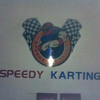 Photo taken at Speedy Karting by Burhancan K. on 5/19/2013