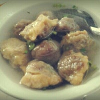 Photo taken at Bakso Babi 153 by Violet T. on 2/4/2013