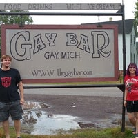Photo taken at Gay Bar & Grill by Chrissy C. on 9/20/2013