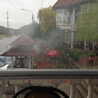 Photo taken at Кафе Арбат на бочке by Баходир Х. on 3/31/2013