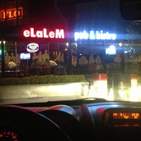 Photo taken at eLaLeM Pub&Bistro by Coşkun D. on 5/26/2013