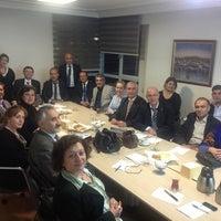 Photo taken at TBD Türkiye Bilişim Derneği by Leyla E. on 3/14/2013